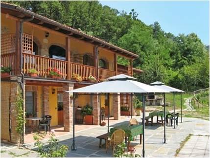Piemonte : eigendom met vakantieappartementen