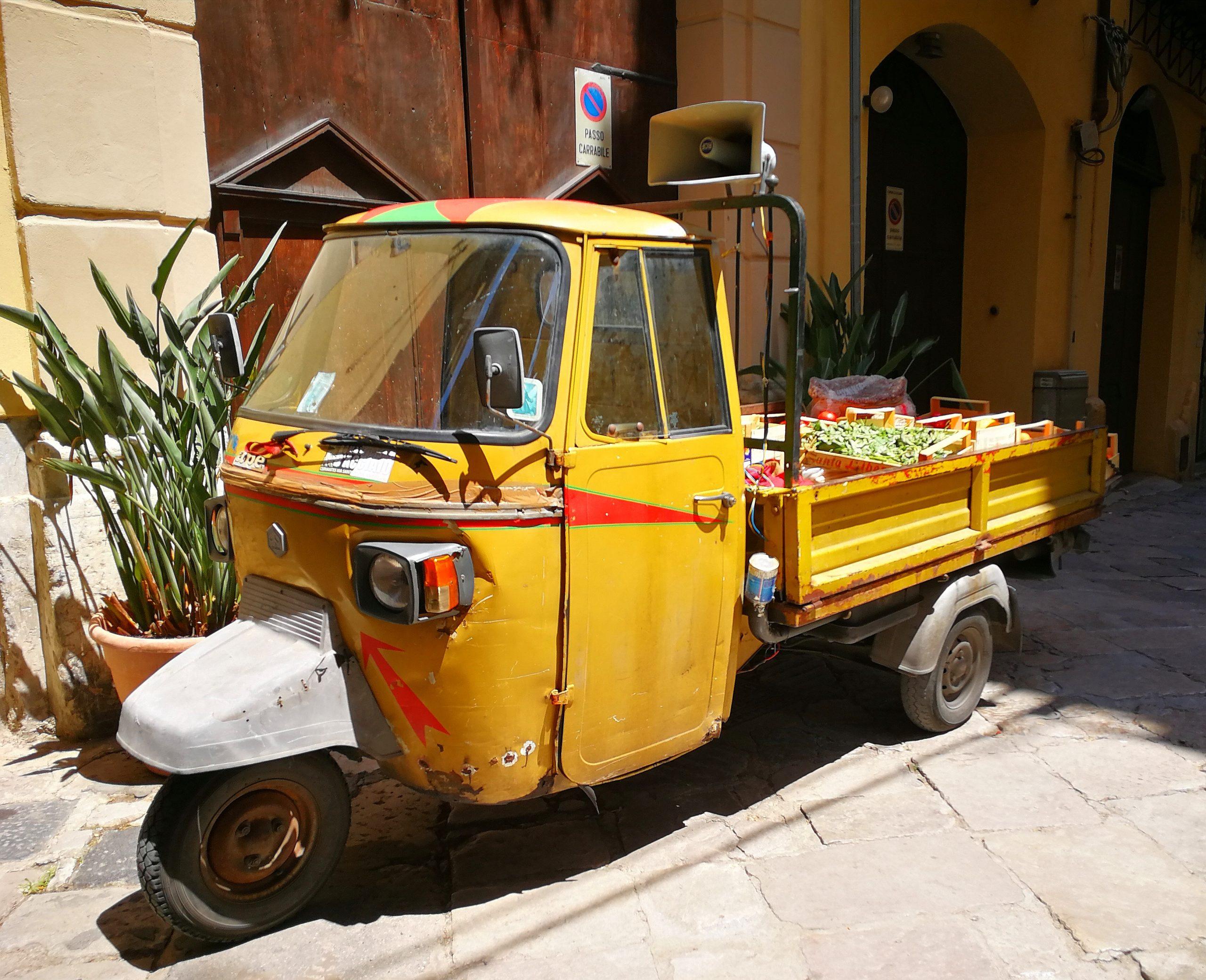 Advitalia on the road in Palermo