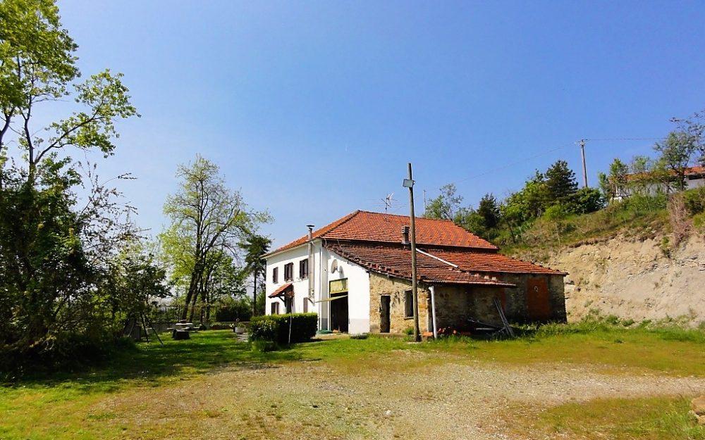 Piemonte : geitenboerderij vlakbij Acqui Terme