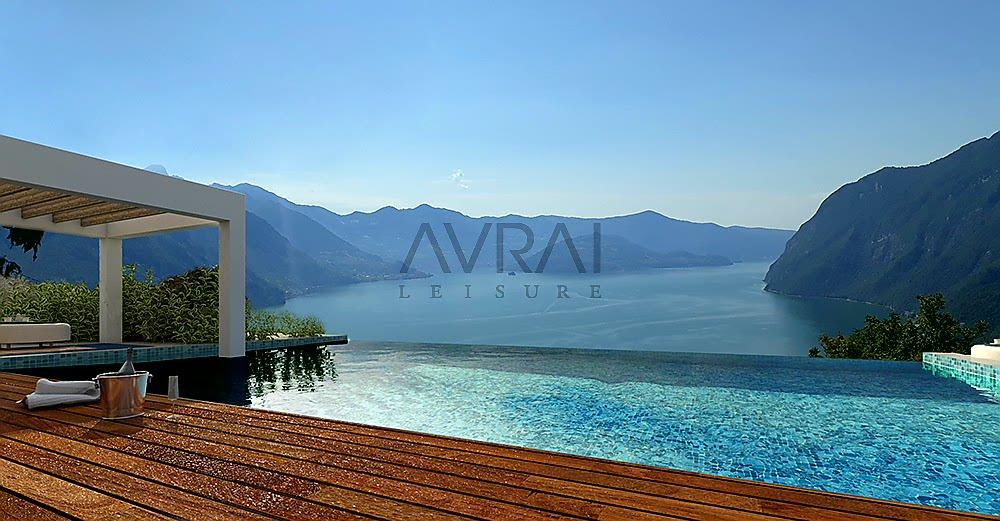 Iseo meer: Appartementen in nieuwbouwcomplex met panoramisch infinity zwembad te koop